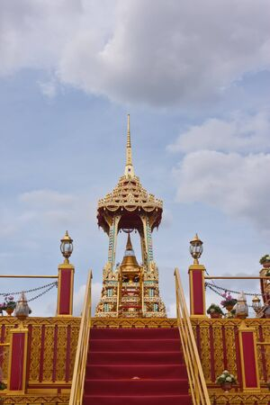 thailand s landmarks: relics of buddha in thailand Stock Photo