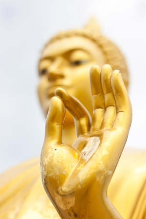 hand of buddha Banque d'images