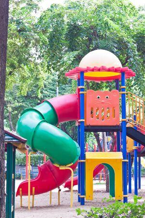 playground at park in thailand