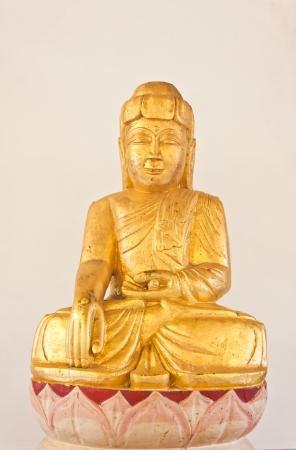 meitation of buddha in thailand photo