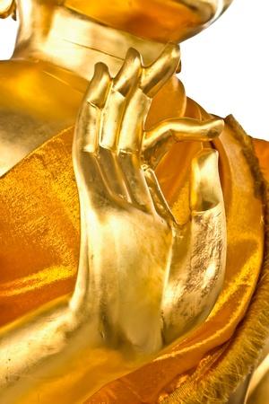 bellezza della statua di buddha in Thailandia