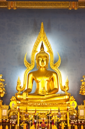 Buddha statue at Wat Benchamaborphit in thailand Stock Photo - 14833344