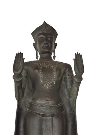 Buddha statue in thailand photo