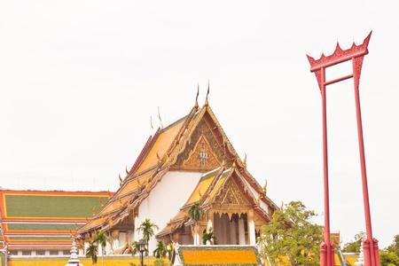 Buddhist church in thailand Stock Photo