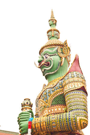 Green Giant at Wat-Arun in Thailand Stock Photo - 14833517