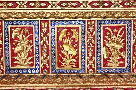 annals: Beauty of Thai art Stock Photo