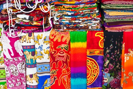 Beautiful sarongs photo