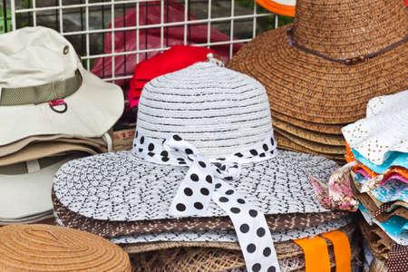 white hat Stock Photo - 14870136