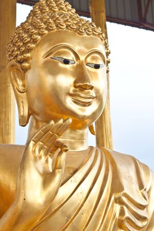 Beauty of Buddha image photo