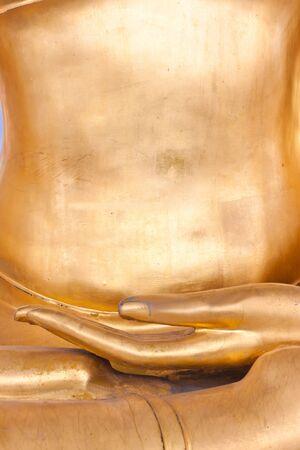 Hand of Buddha image Stock Photo - 15089874