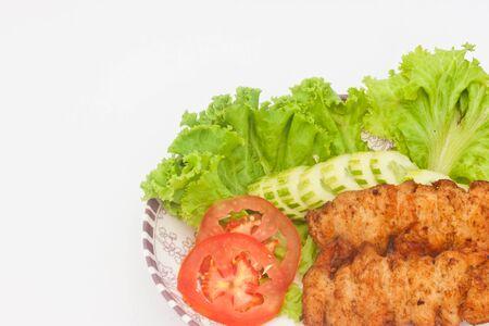 mixing salad Stock Photo