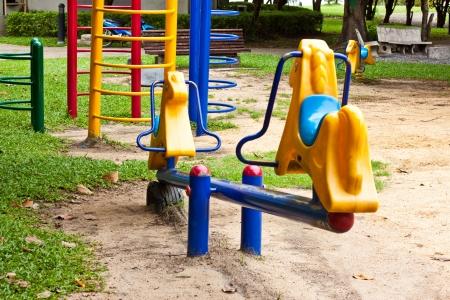 Playground at garden in Thailand