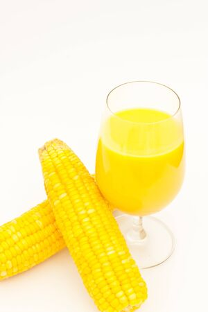corn with corn juice photo