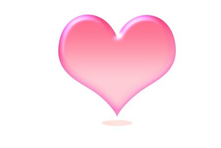 Einbuchtung: Herz-Symbol Lizenzfreie Bilder