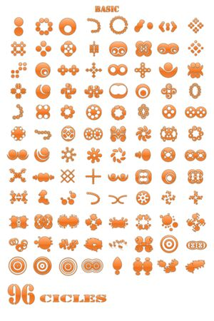 Circles icon Stock Photo - 15824059