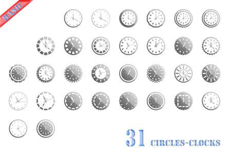 clock icon Stock Photo - 15822775