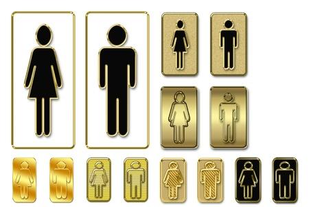 Toilet symbol photo