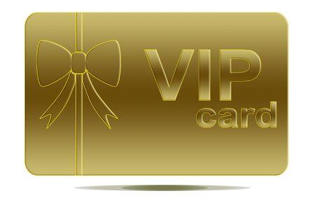 Vip card photo