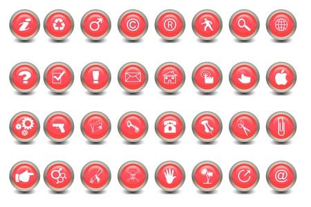 multiple icon Stock Photo - 16324695
