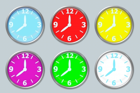 clock design photo