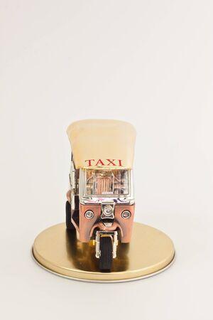 tuk: golden tuk tuk car Stock Photo