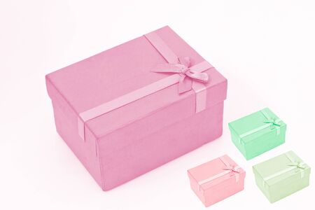 many gift box photo