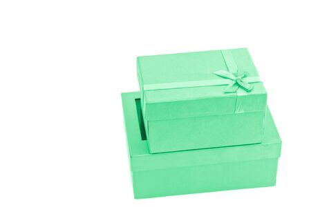 green gift box photo