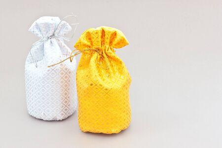 two money bag  Stock Photo - 16502750