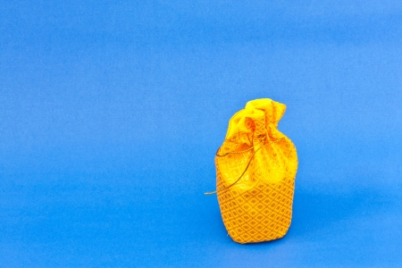 golden money bag Stock Photo - 16502863