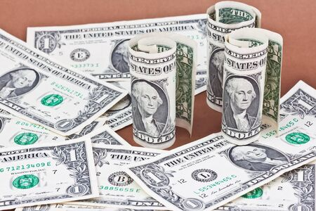 many dollars  Stock Photo - 16502895