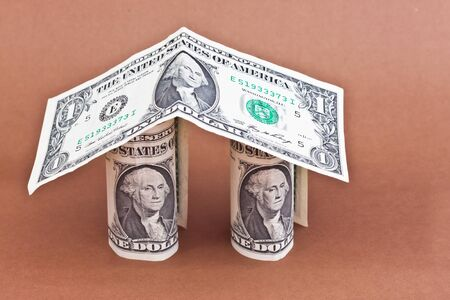 home design from dollars Stock Photo - 16494494