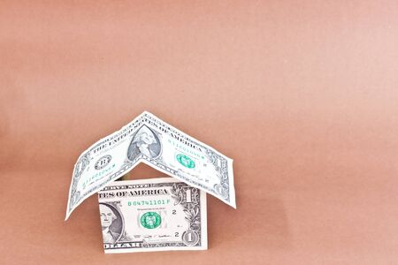 home design from dollars Stock Photo - 16494485