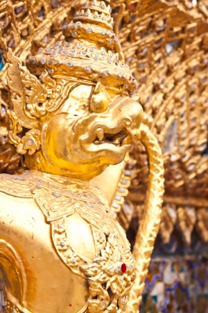 garuda state symbol of thailand photo