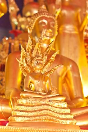 naga china: Buddha statue in Thailand Stock Photo