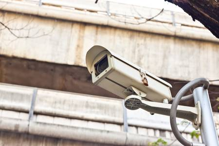 day time: cctv on day time Stock Photo