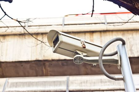 cctv on day time Stock Photo - 17221146
