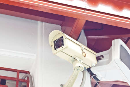 cctv on day time Stock Photo - 17221115