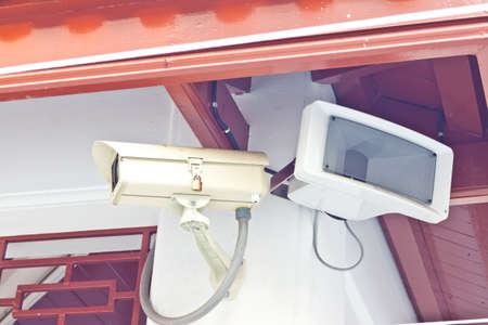cctv on day time Stock Photo - 17221251