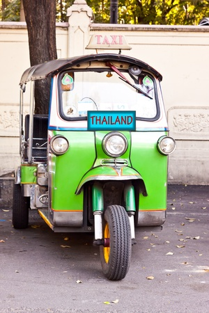 tuk tuk car of thailand photo