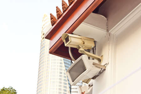 cctv on day time Stock Photo - 17221111