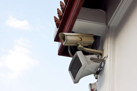 cctv on day time Stock Photo - 17221087