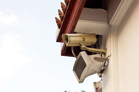 cctv on day time Stock Photo - 17221110