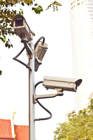 cctv on day time Stock Photo - 17204120