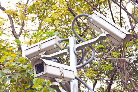 cctv on day time Stock Photo - 17221332