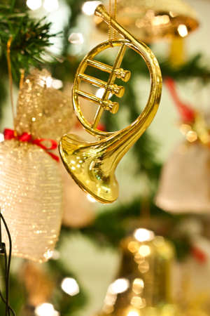 golden saxophone Stock Photo - 17697115