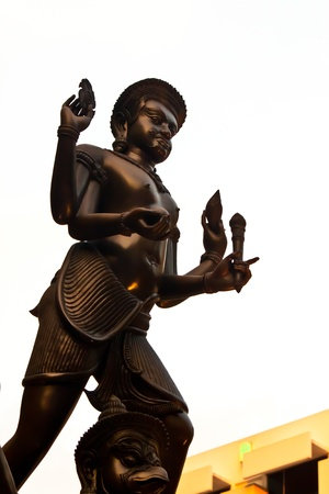 narayana statue in thailand photo