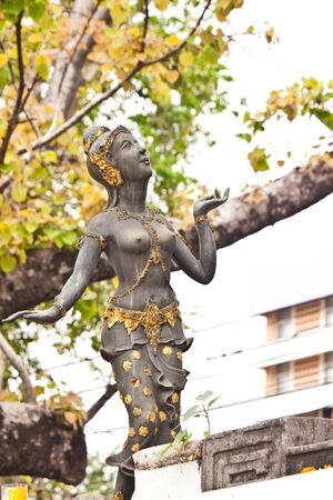 faily statue in thailand photo
