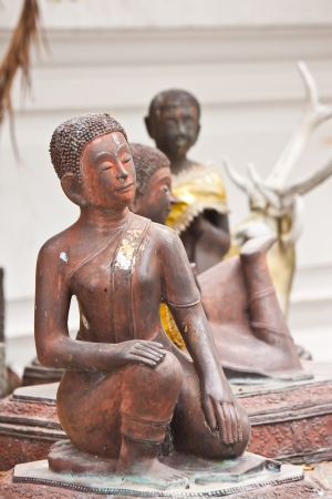 art of statue in thailand photo