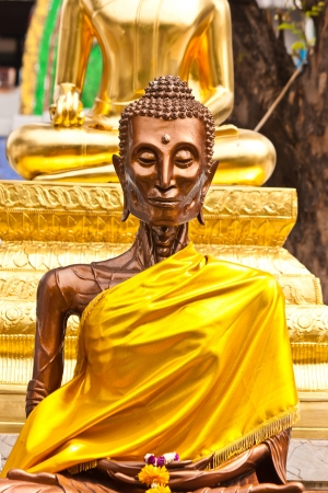 Self-torture buddha in thailand photo