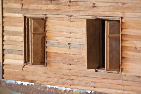 wood windows Stock Photo - 18391724